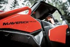 2018 Two-Seater Can-Am Maverick Trail 1000 3