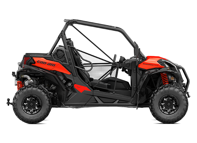 2019 Maverick Trail DPS 1000 Can-Am Red_side right_INT
